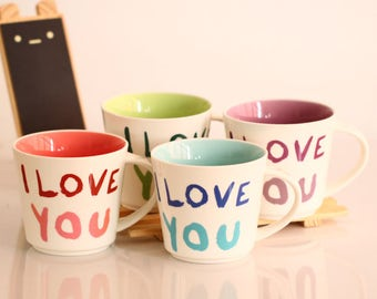 I love you espresso cup (FREE SHIPPING)