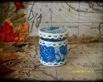 Hand Decorated Mini Secret Stash Jar Cannabis/Marijuana/Weed/Herb/Pills 45ml