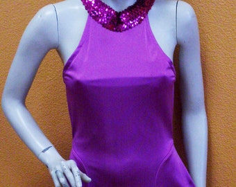 Costume woman dress 1970, ref: EF20, size 36/38.