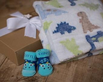 Baby gift set - Dinosaur gift box