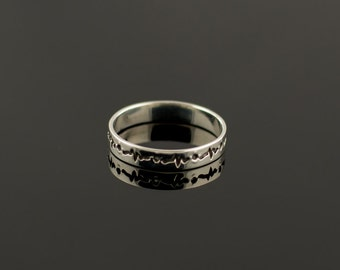 Silver Ring Free Shipping Handcrafted Jewelry, Weight 1,45g.