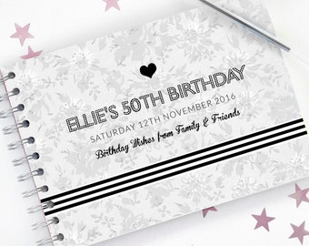 50th Birthday Guest Book