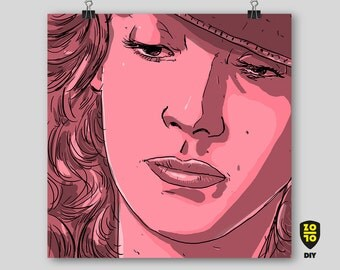 Marisa Berenson, Barry Lyndon Digital Art by Alexander Fechner