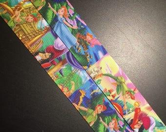 """1"""" Peter Pan Print Grosgrain Ribbon"""