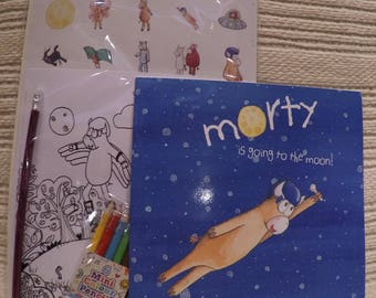 Morty story book and activity pack bundle