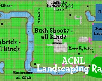 Animal Crossing New Leaf Landscaping Raid