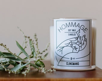Clingmans Soy Wax Candle
