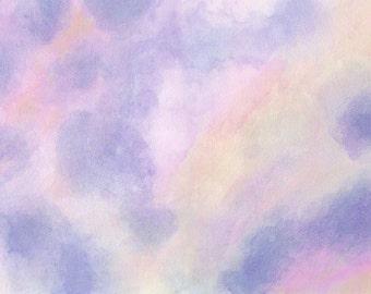 Beltane Dawn Fine Art Signed Giclee Print Of Original Landscape Painting