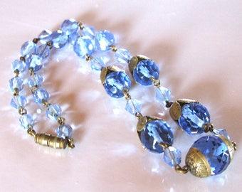 Vintage czech art deco necklace 1930