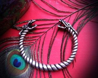 Miao TRIBAL Bracelet/Armlet - Tribal Silver, Hill Tribe (JB165)