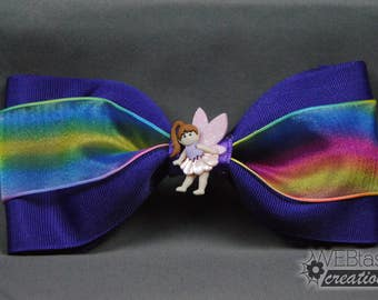 Rainbow Fairy Barrette