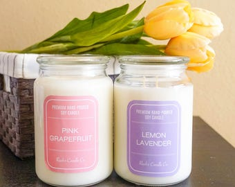 Ruah's Candle >> 26oz Jar Soy Candle