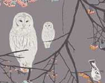Bird Songs Moon in VOILE by Art Gallery Fabrics x 50cm