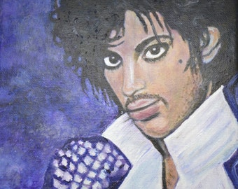 Prince Purple Rain portrait