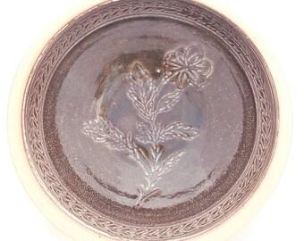Carved Serving Bowl