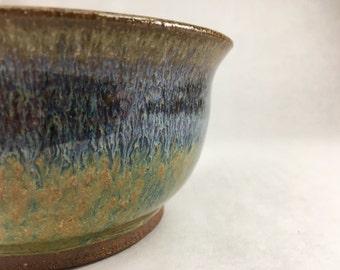 Creamy Blue-green Snack Bowl