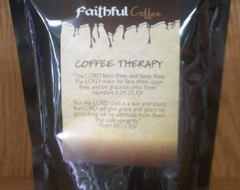 Coffee (Coffee Therapy) or choose from thirty other gift coffee inspirational labels.