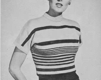 1950s Kimono-Sleeved Slip-On