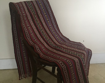 Hand Crafted Peruvian One Of A Kind Shawl