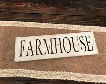 Rustic Farmhouse wooden sign, Rustic farmhouse decor