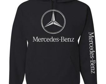 Mercedes benz etsy for Mercedes benz hoodie