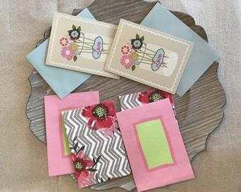 Spring Theme Blank Notecards