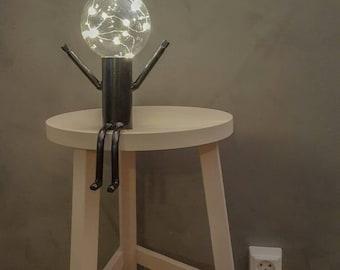 Modern cordless LED lamp