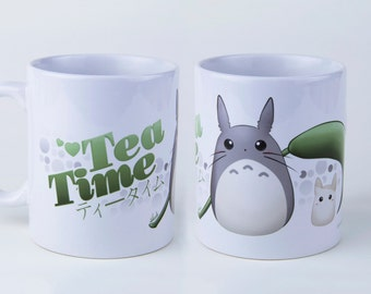 Totoro Tea Time! * Cup/Mug 340ml *
