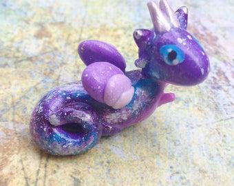 LAST CHANCE - Galaxy purple dragon