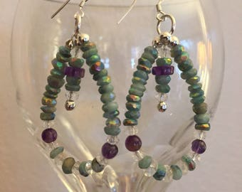Mystic Amazonite Earrings