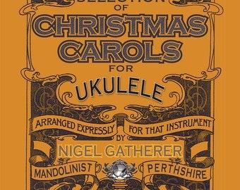 MiniBooks 1: Christmas Carols for Ukulele (Download)