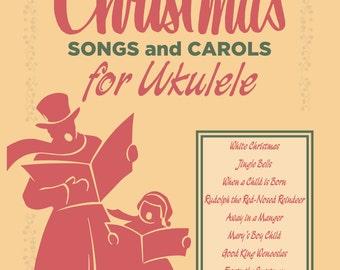 MiniBooks 2: Christmas Songs for Ukulele (Download)