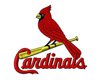 St. Louis Cardinals Embroidery Designs 5 Sizes Major Baseball Embroidery Designs PES Digital Machine Embroidery Instant Download