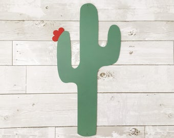 Metal Cactus - Metal Sign - Metal Wall Decor - Metal House Decor - Cactus Wall Decor - Cactus Wall Sign