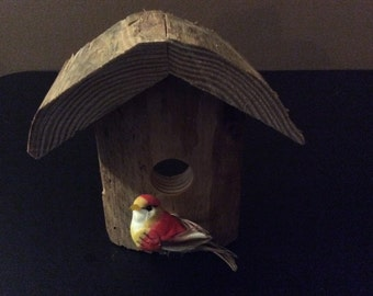 Reclaimed Wooden Bird House