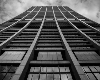 Chicago Chase Tower Print or Wrapped Canvas | Chicago Loop | Fine Art Photograph Wall Art Decor