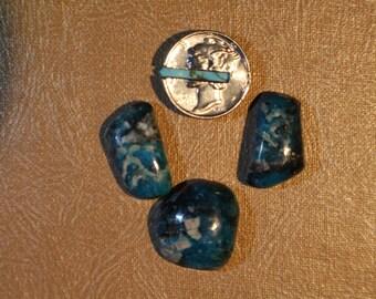 Kingman Turquoise Cabochon Set