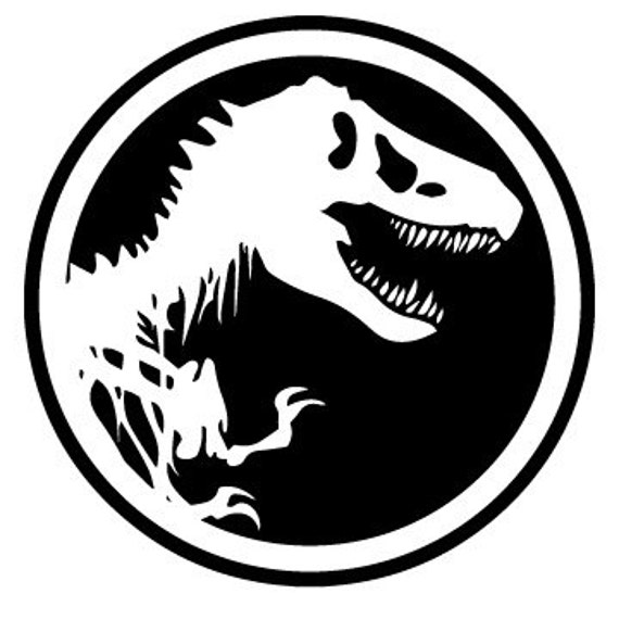 Vinyl Decal Sticker - Jurassic Park Decal for Windows, Cars, Laptops, Macbook, Yeti, Coolers, Mugs etc