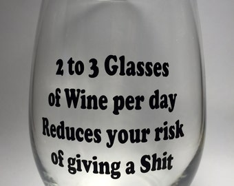 Stemless wine glasses. Personalized and customizable for any occasion