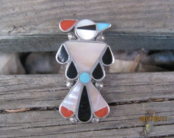 Zuni Thunderbird Ring