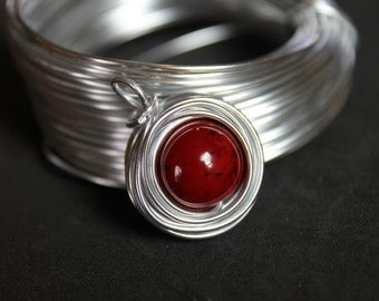 "The ""Red"" Collection Nest Pendant"