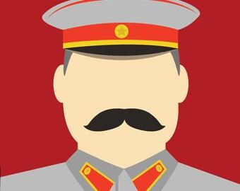 Minimalist Stalin