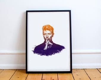 David Bowie A4 Art Print