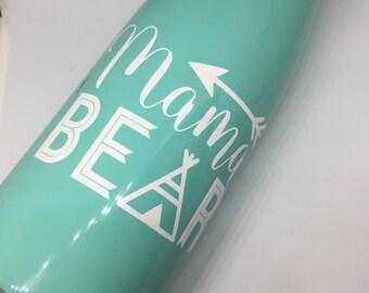 ON SALE: Mama Bear metal water bottle
