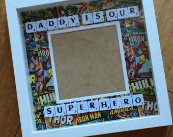 Father's Day Superhero Frame