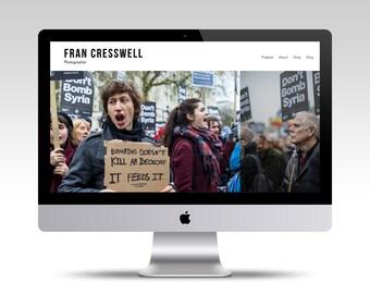 Budget Custom Squarespace Website, Custom Website, Website Design