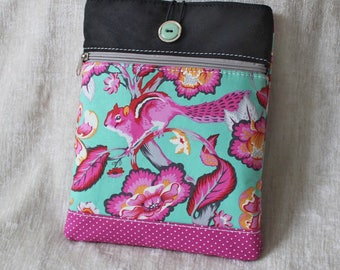 IPad case, Tablet bag, PINK SQUIRREL