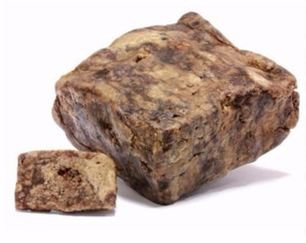 Natural Raw African Black Soap 8oz