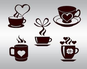 Coffee lover svg, Coffee svg, Coffee cup svg, Coffee mug svg, SVG Files, Cricut, Cameo, Cut file, Files, Clipart, Svg, DXF, Png, Pdf, Eps