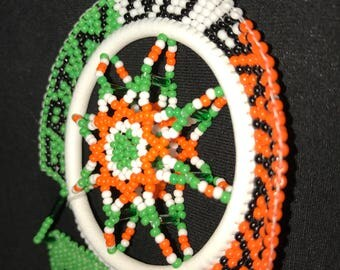Erin Go Bragh (Irish Pride) green, white, and orange. Made to order, any color.